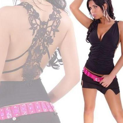 Ladies Sexy Party Lace Embroidery B..